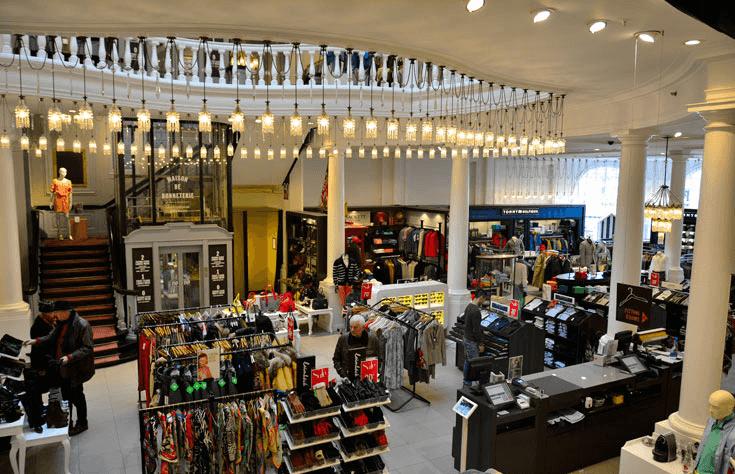 Shoppings e Lojas de Departamento em Amsterdã