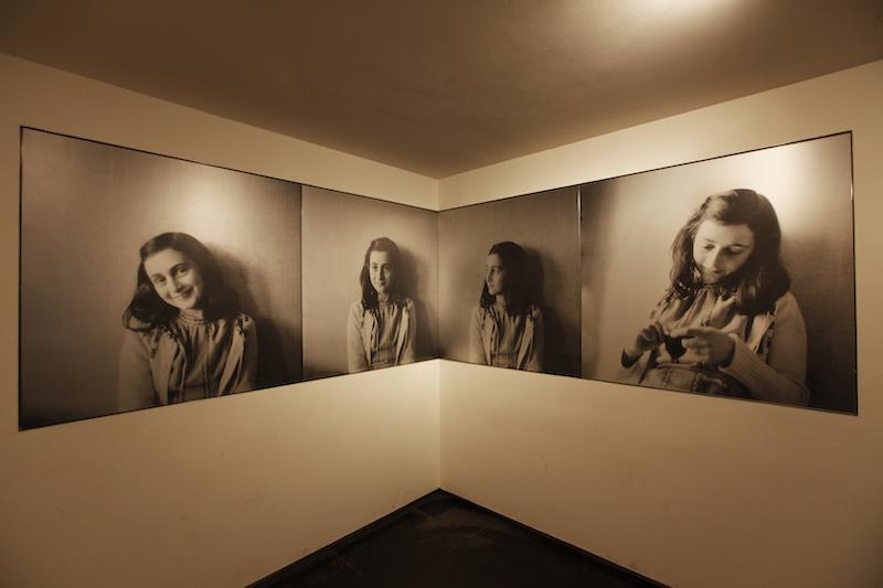 Fotos de Anne Frank em Amsterdã