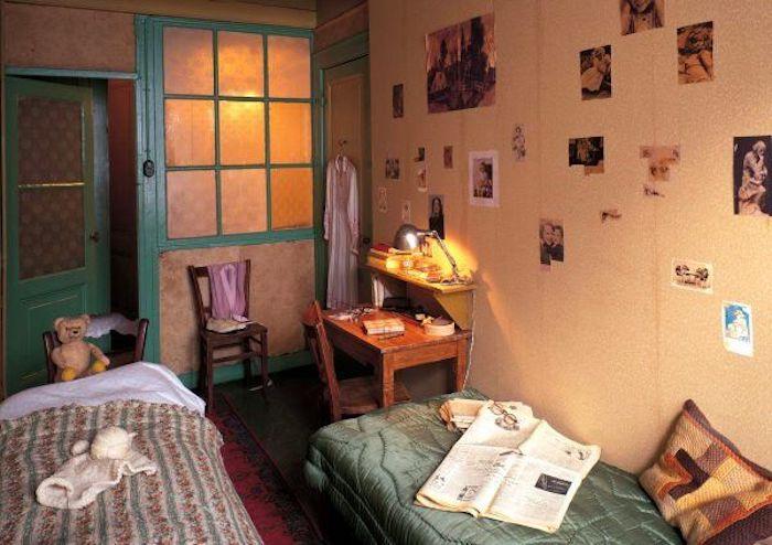 Quarto de Anne Frank em Amsterdã