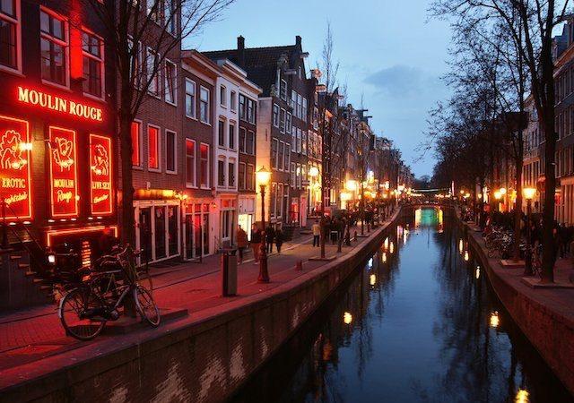 Red Light District em Amsterdã