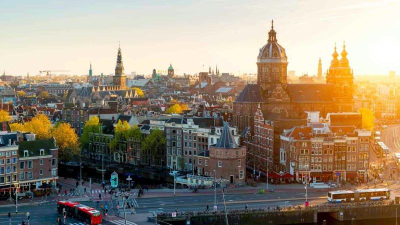 Basílica de São Nicolau em Amsterdã