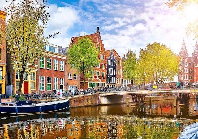 Paisagem de Amsterdã