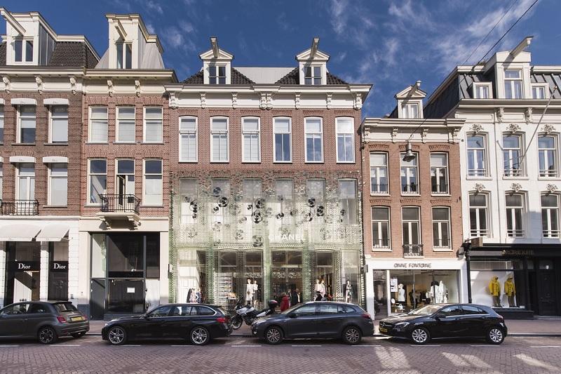 Rua PC Hooftstraat em Amsterdã