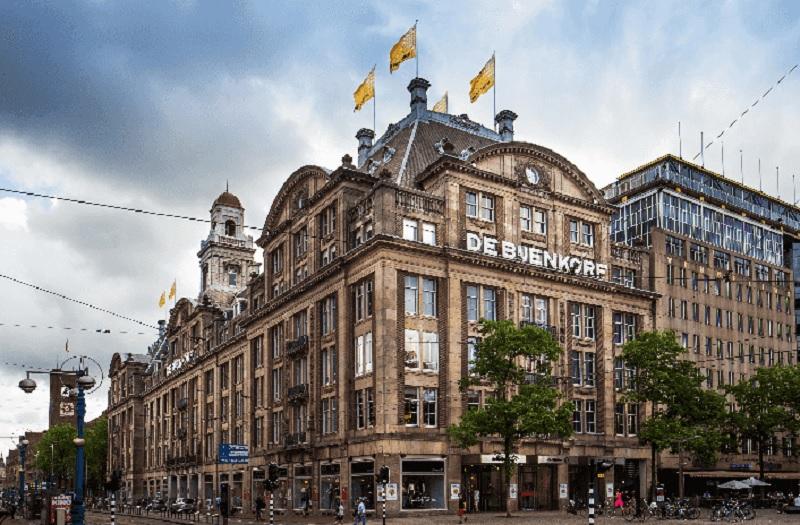 Loja De Bijenkorf em Amsterdã