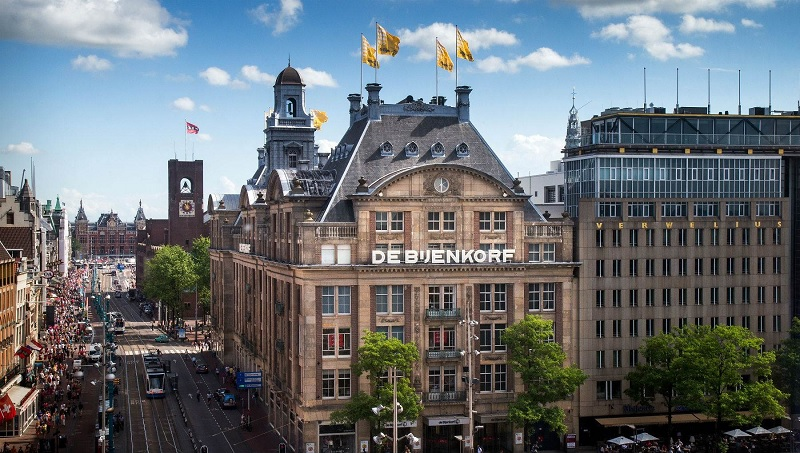 Loja de departamentos De Bijenkorf em Amsterdã