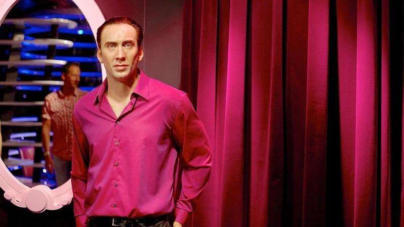 Estátua do Nicolas Cage no Museu Madame Tussauds em Amsterdã