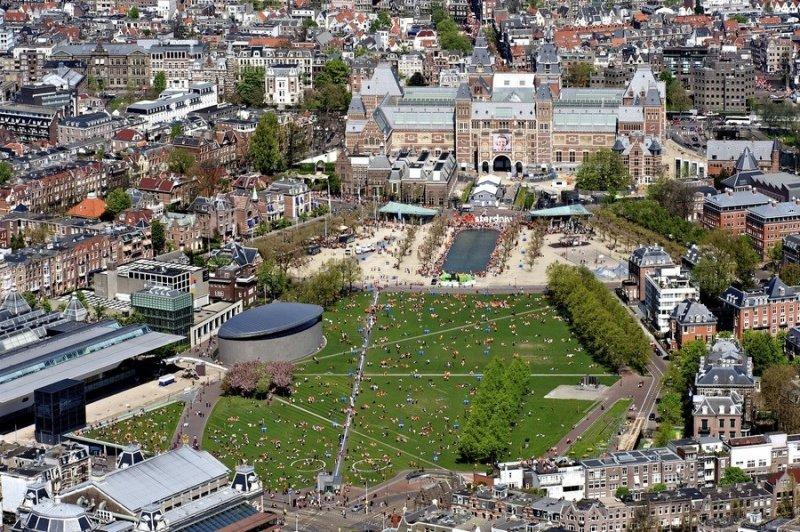 Região da Museumplein em Amsterdã