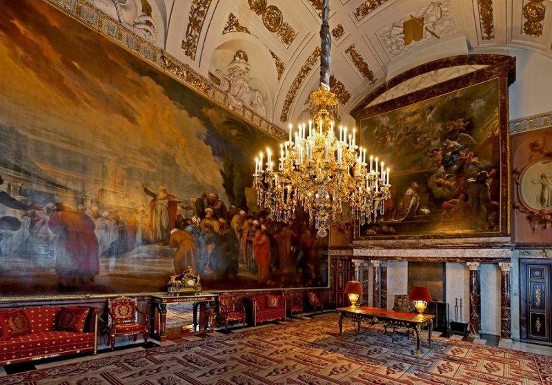 Arquitetura do Palácio Real de Amsterdã