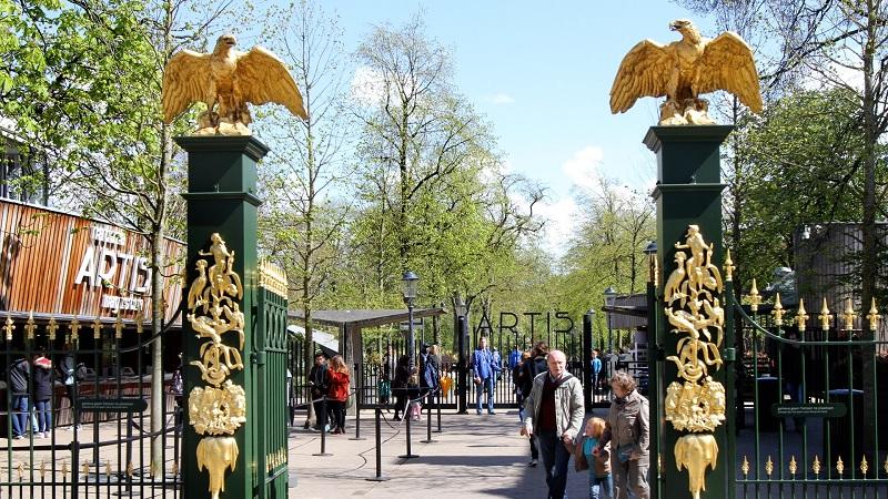 Natura Artis Magistra Zoo em Amsterdã