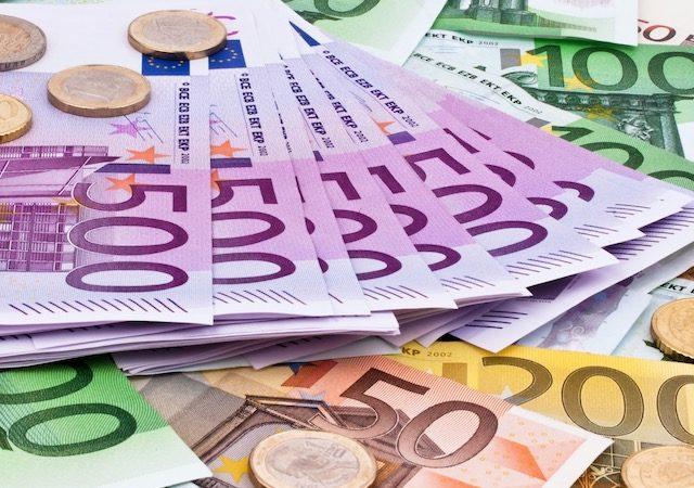Euros em Amsterdã