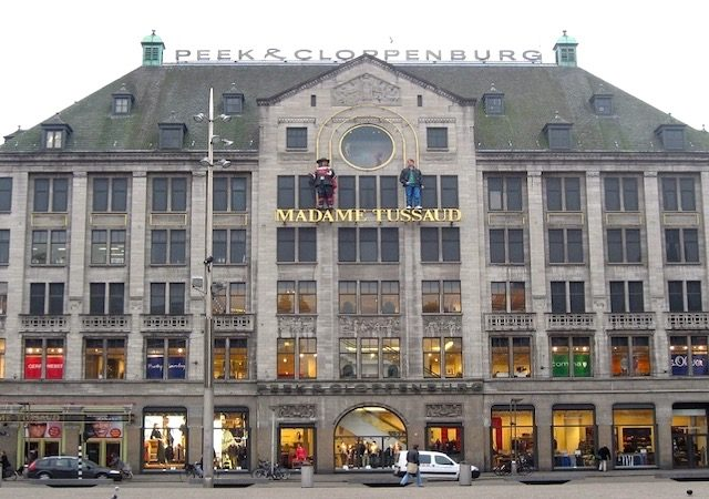 Museu Madame Tussauds em Amsterdã