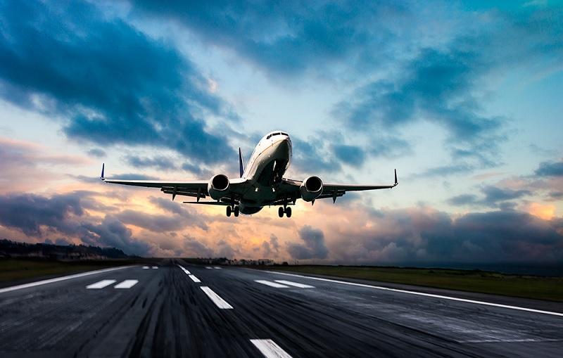 Avião na Holanda