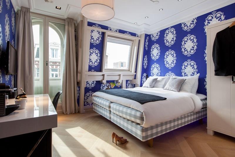Quarto de hotel em Amsterdã