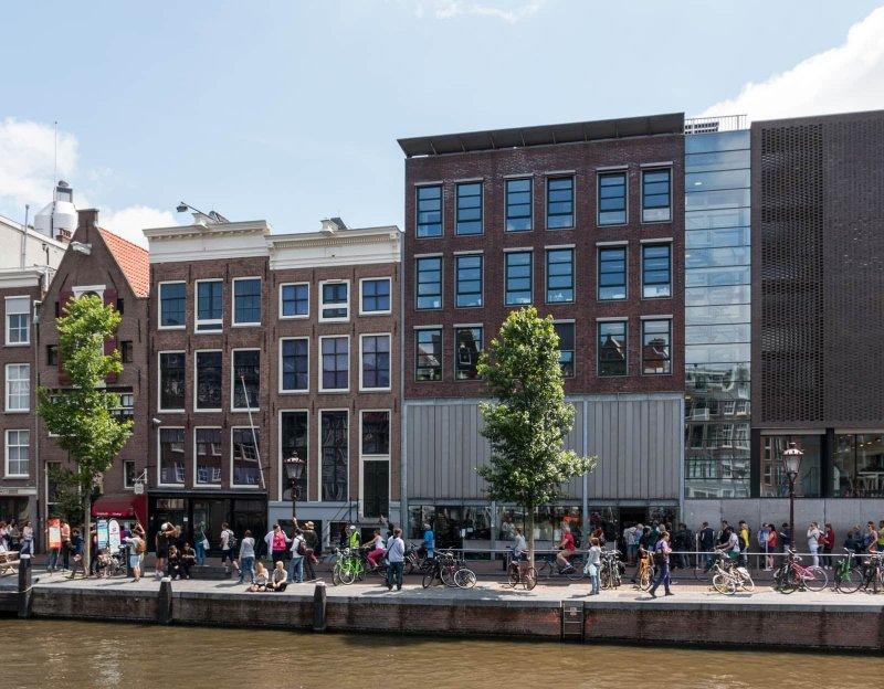 Museu e Casa de Anne Frank em Amsterdã