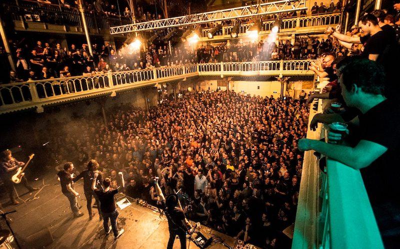 Show ao vivo na balada Paradiso em Amsterdã