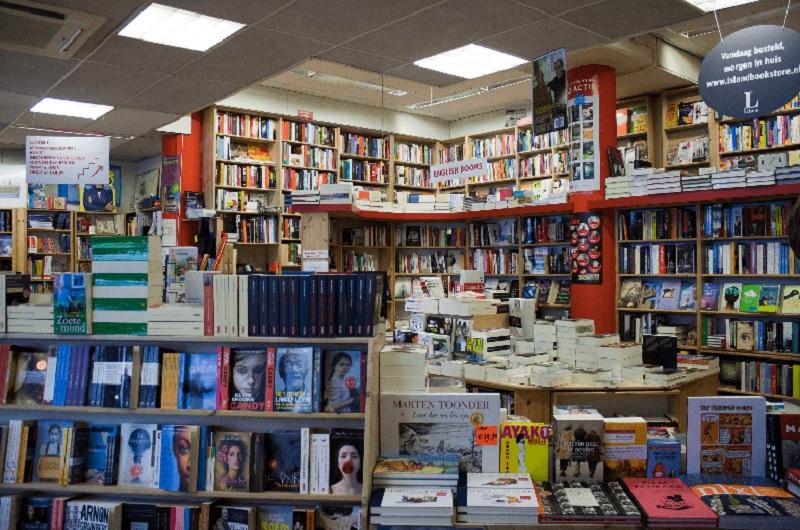 Livraria em Amsterdã