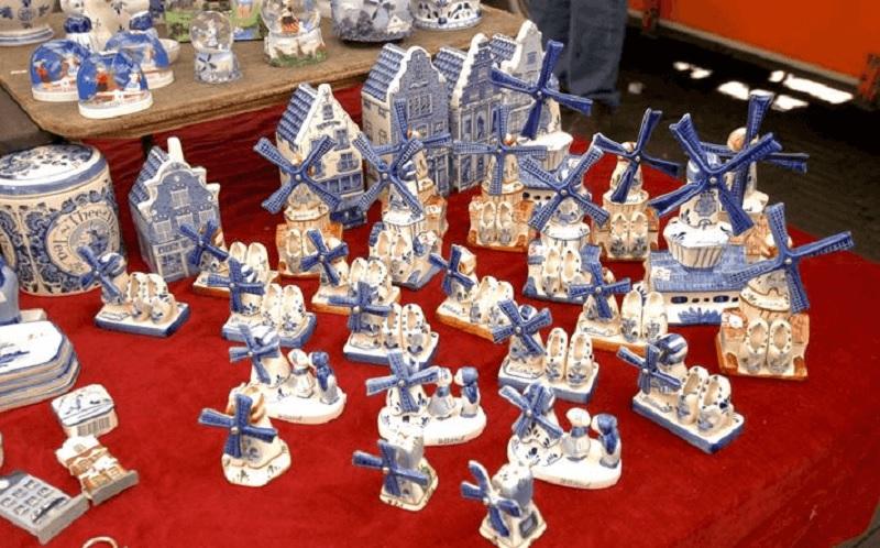 Delft Blue em Amsterdã