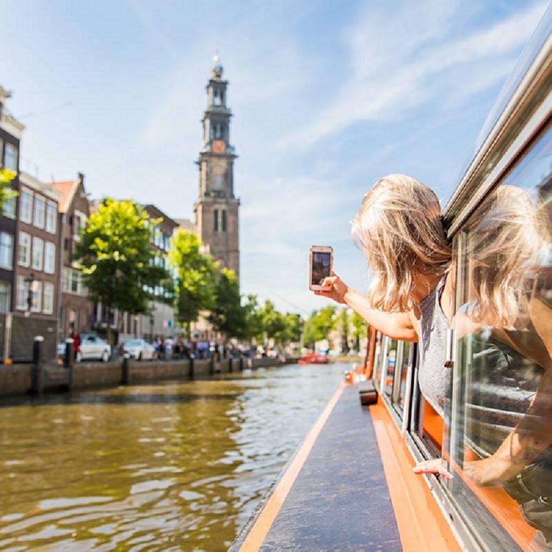 Passeio de barco por Amsterdã