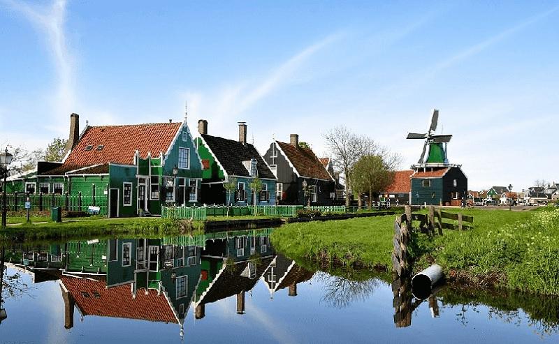 Vila Volendam na Holanda