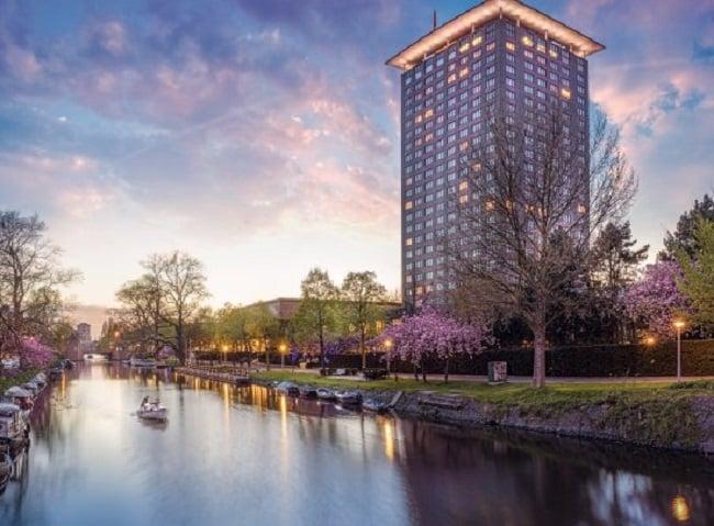 Hotel Okura em Amsterdã