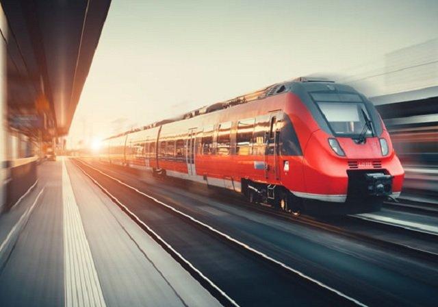 Viagem de trem de Amsterdã a Londres