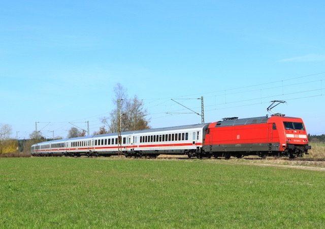 Viagem de trem de Amsterdã a Berlim