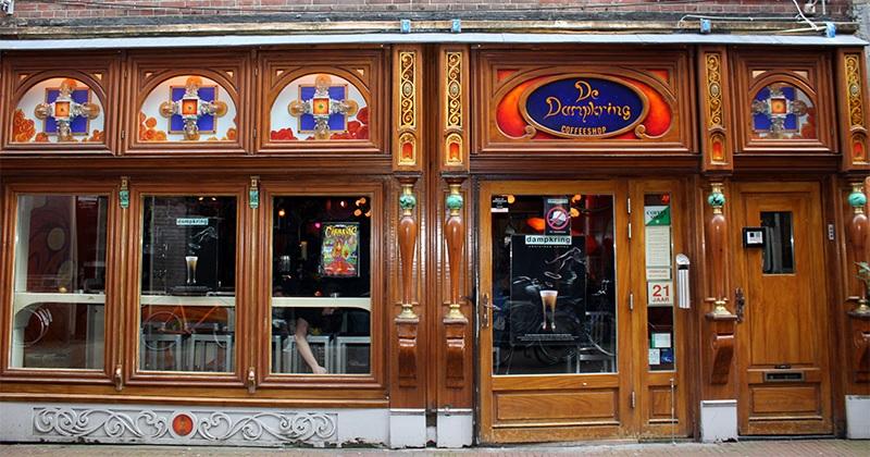 Coffee Shop Dampkring em Amsterdã
