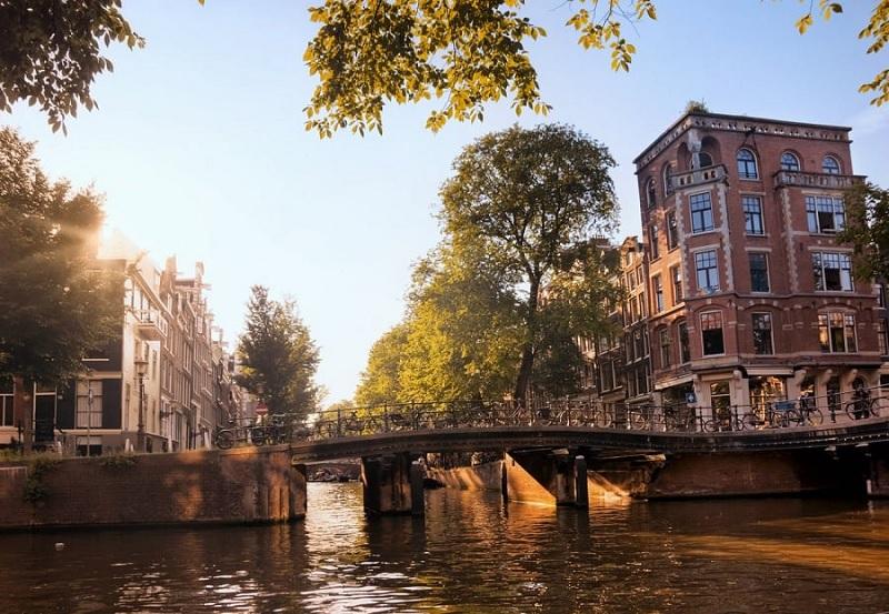 Verão em Amsterdã