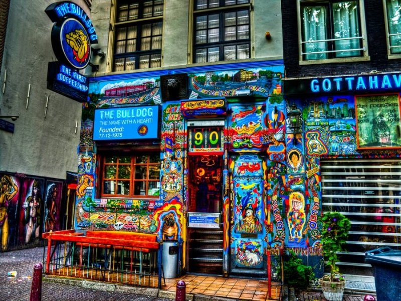 The Bulldog Coffee Shop em Amsterdã