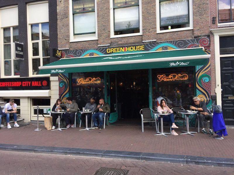 Coffee Shop The Green House em Amsterdã