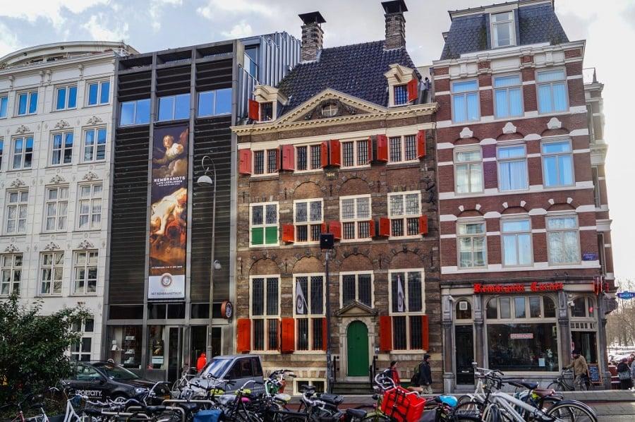 Casa de Rembrandt em Amsterdã