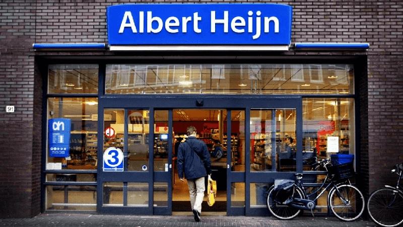 Fachada do supermercado Albert Heijn em Amsterdã