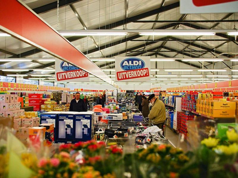 Supermercado Aldi em Amsterdã