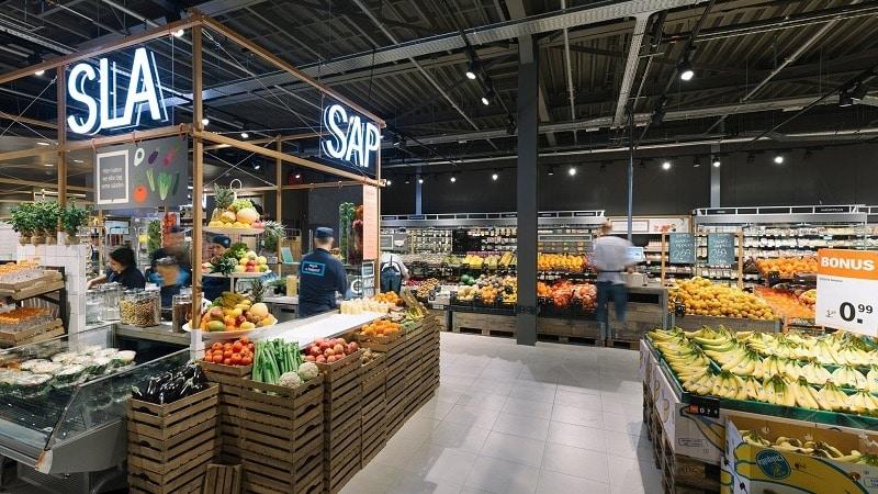 Supermercado em Amsterdã