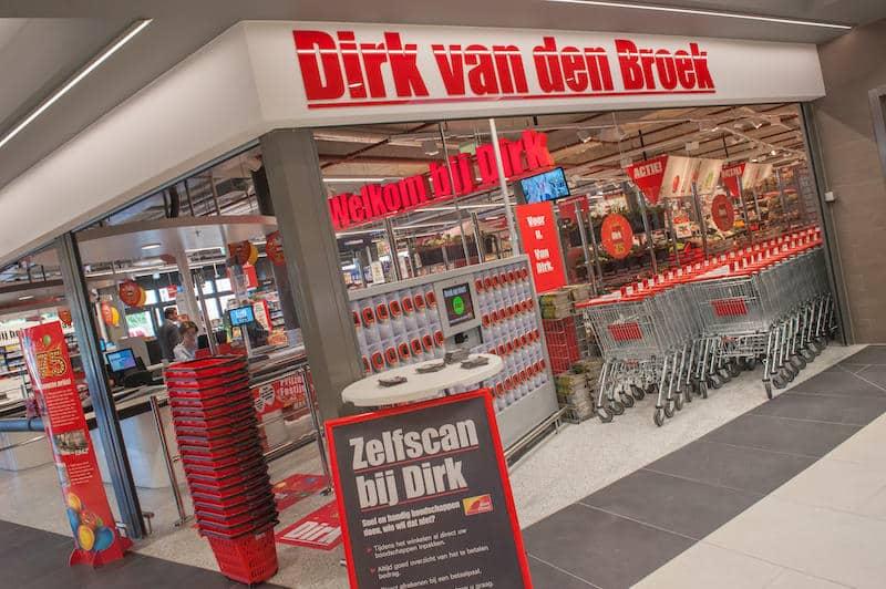Supermercado Dirk van de Broek em Amsterdã