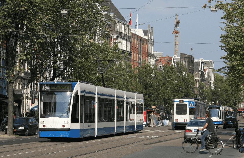 Como andar e se locomover em Amsterdã