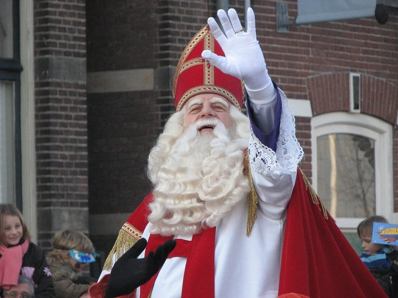 Sinterklass em Amsterdã