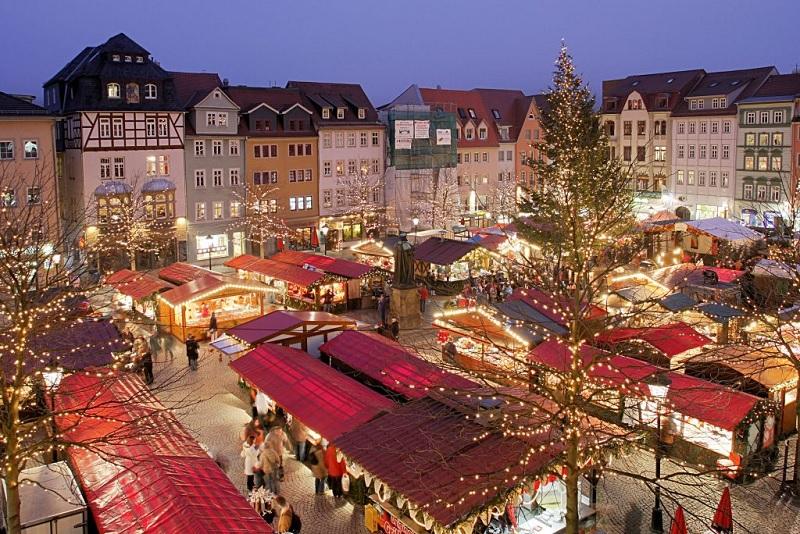 Mercados de Natal em Amsterdã na Holanda