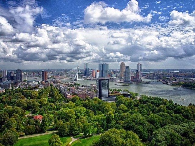 Roterdã na Holanda