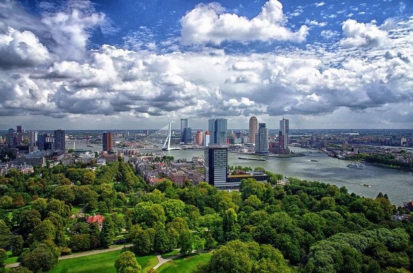 Verão em Roterdã