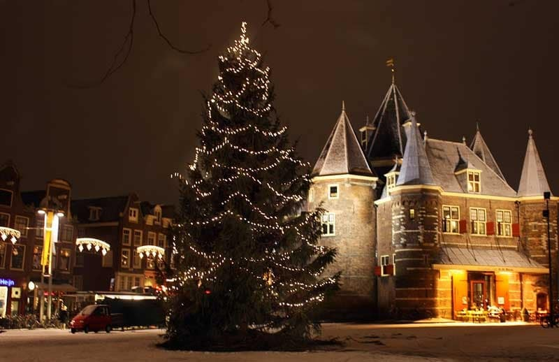 Árvore de Natal em Roterdã