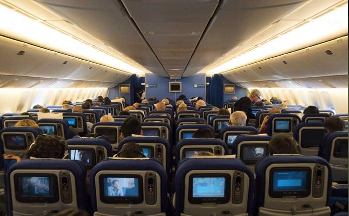 Avião: interior