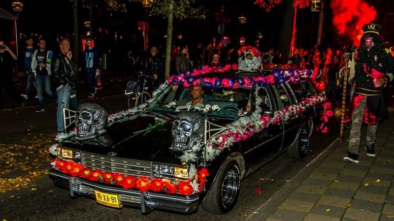 Festa de Halloween em Amsterdã