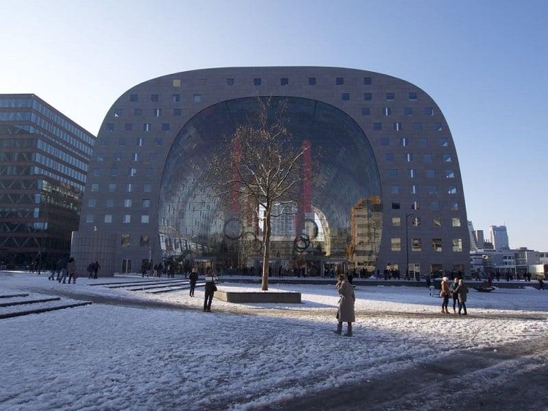 Inverno em Roterdã