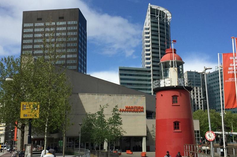 Museu Marítimo em Roterdã