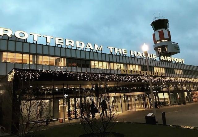 Transfer do Aeroporto de Roterdã até o hotel