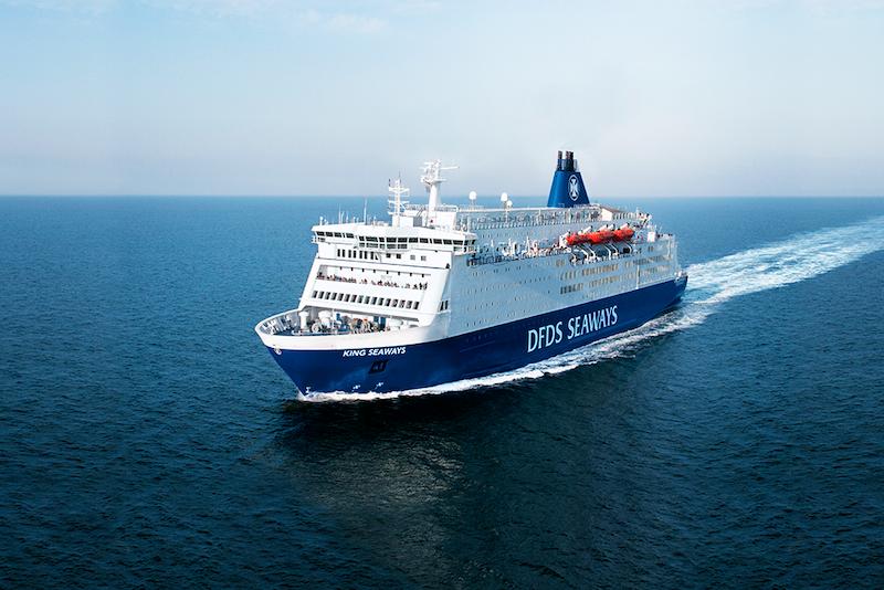 Viagem de ferry boat na Holanda