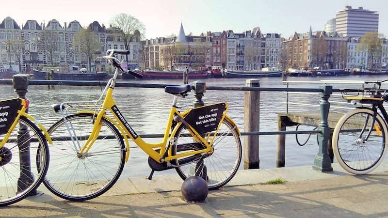 Aluguel de bicicleta em Amsterdã na Holanda