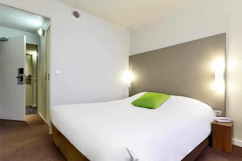 Quarto do hotel Campanile Porte de Bagnolet em Paris