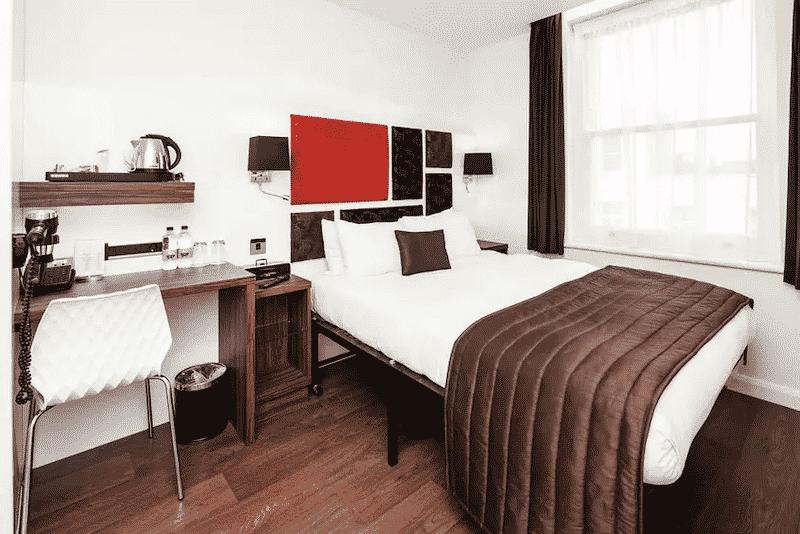 Quarto do hotel Chiswick Rooms em Londres